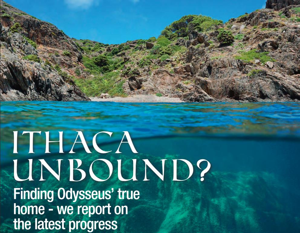 Odysseus Unbound in Geoscientist Magazine