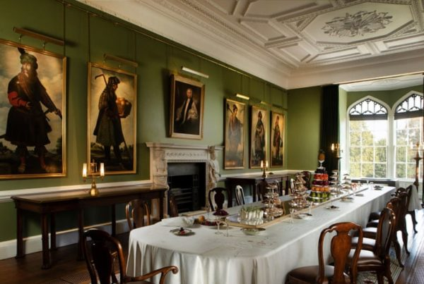 dining room heritage fundraising success
